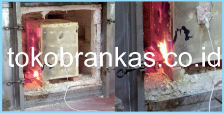 Proses Pengujian Brankas sni Tahan Api