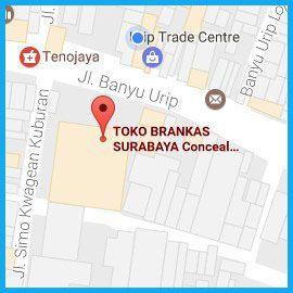 Cari Lokasi Google Map Toko Brankas