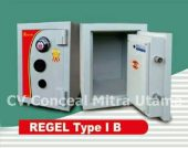 Brankas tahan bongkar REGEL tipe RL 1B tinggi 50 cm