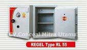 Brankas tahan bongkar REGEL tinggi 50 – 55 cm RL 55A