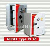 Brankas tahan bongkar REGEL tipe RL 65A tinggi 60 – 65 cm
